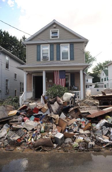 William Thomas Cain「Wilkes-Barre Hard Hit By Susquehanna River Flooding」:写真・画像(11)[壁紙.com]