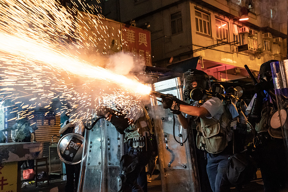 Protest「Unrest In Hong Kong During Anti-Government Protests」:写真・画像(15)[壁紙.com]