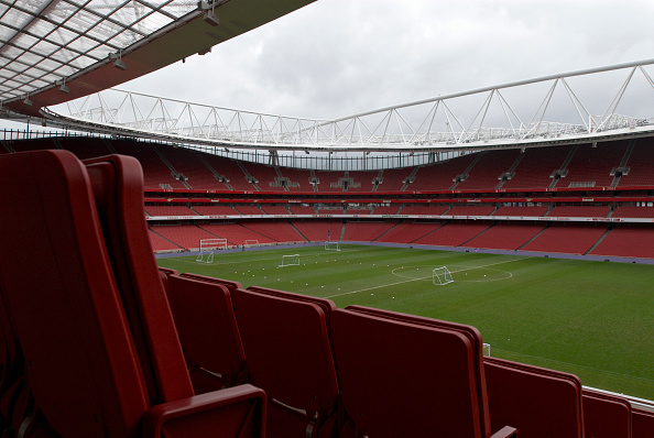 Empty「The Emirates Stadium in Ashburton Grove, north London, is the home of Arsenal Football Club. The stadium opened in July 2006, and has an all-seated capacity of 60,432, making it the second largest stadium in the Premiership after Manchester United's Old」:写真・画像(15)[壁紙.com]