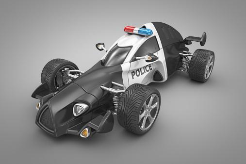 Hot Rod Car「police car」:スマホ壁紙(17)