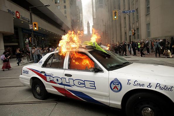 Toronto「Demonstrators Protest The G20 Summit」:写真・画像(6)[壁紙.com]