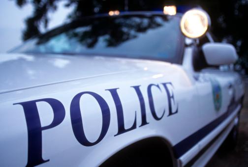 Little Rock - Arkansas「Police car lights」:スマホ壁紙(10)