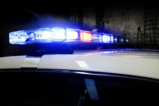 Emergency Services Occupation「Police Car Lights」:スマホ壁紙(6)