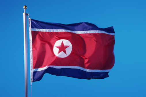 Pole「Flag of North Korea」:スマホ壁紙(9)