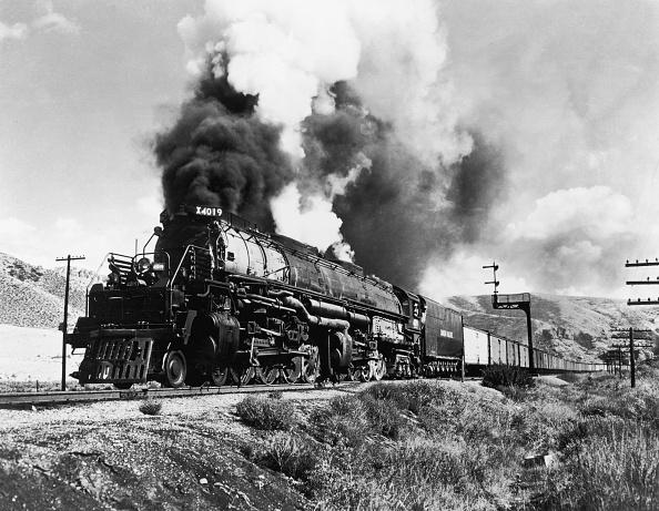 Steam Train「Union Pacific Train」:写真・画像(4)[壁紙.com]