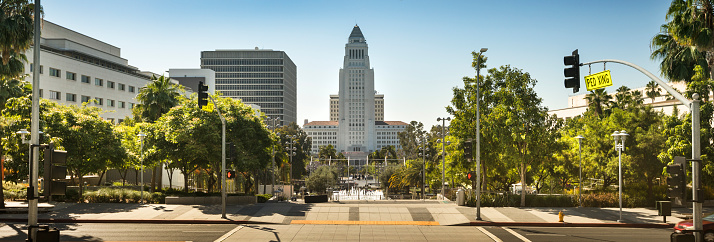 Election「Los Angeles City Hall panoramic」:スマホ壁紙(0)