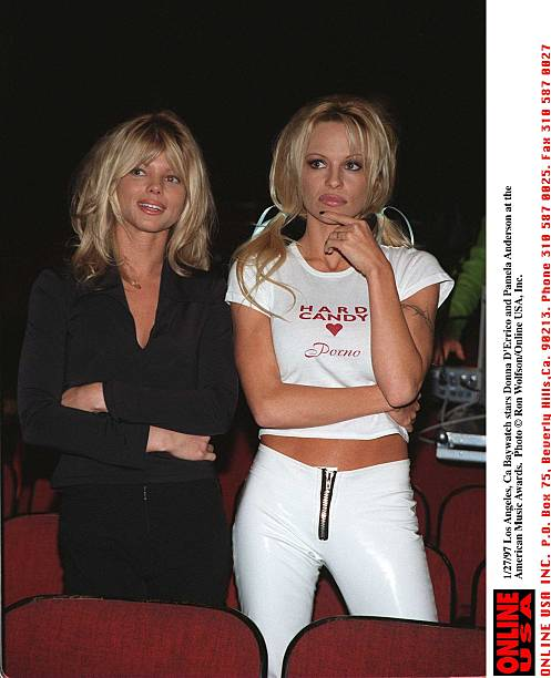 Baywatch Stars Donna D'Errico And Pamela Anderson At The American Music Award:ニュース(壁紙.com)
