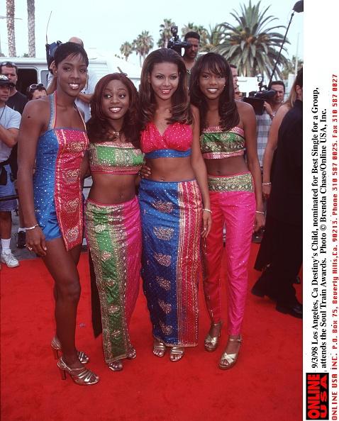 Destiny's Child「9/3/98 Los Angeles, Ca Destiny's Child, nominated for Best Group, at the Soul Train awards.」:写真・画像(6)[壁紙.com]