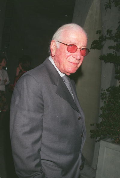 David Keeler「Composer Jerry Goldsmith At Spago's Restaurant」:写真・画像(2)[壁紙.com]