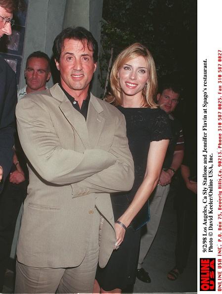 David Keeler「Los Angeles Ca Sly Stallone And Jennifer Flavin At Spago」:写真・画像(3)[壁紙.com]