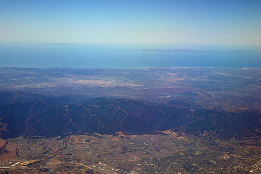 California State Route 1「Los Angeles Suburbs and Skyline」:スマホ壁紙(17)