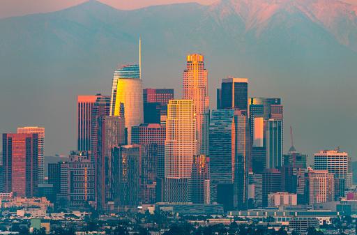 January「Los Angeles at Twilight」:スマホ壁紙(15)