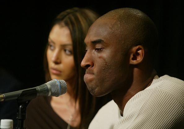 Teardrop「Kobe Bryant, Wife Appear At News Conference」:写真・画像(8)[壁紙.com]