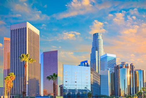 City Of Los Angeles「Los Angeles skyline, CA」:スマホ壁紙(13)