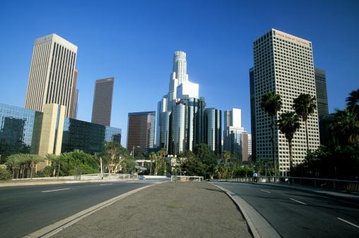 City Of Los Angeles「Los Angeles skyline」:スマホ壁紙(16)