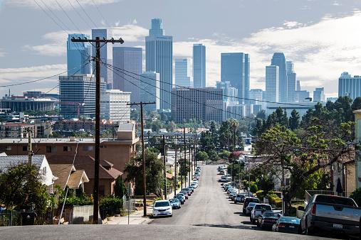 2014「Los Angeles Skyline」:スマホ壁紙(18)
