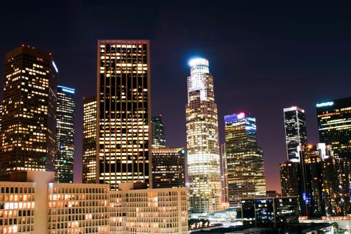 Angeles National Forest「Los Angeles Skyline」:スマホ壁紙(6)