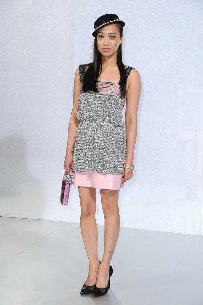 Strap「Chanel : Front Row - Paris Fashion Week - Haute Couture S/S 2014」:写真・画像(17)[壁紙.com]