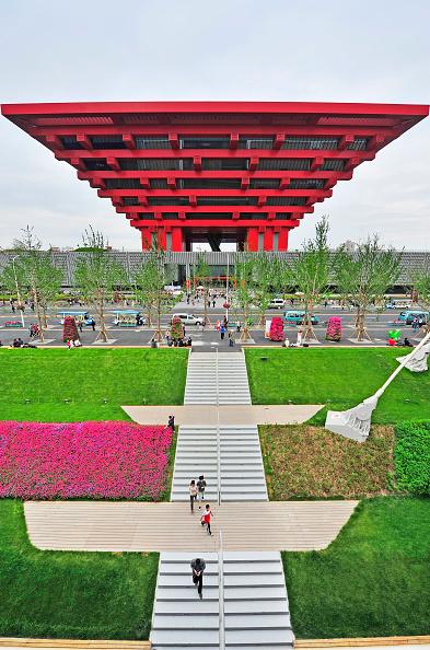 Finance and Economy「China pavillion at the 2010 Shanghai World Expo, China.」:写真・画像(12)[壁紙.com]
