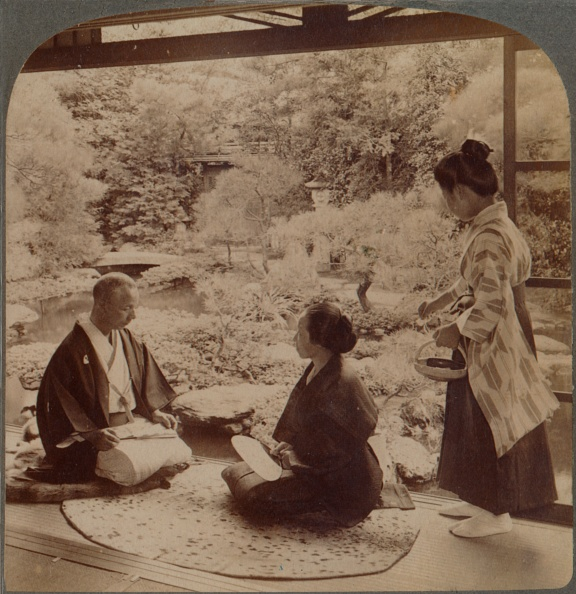 対面「'South Gardens From Home Of Mr Y Namikawa, The Famous Leader In Art Industries, Kyoto, Japan', 1904」:写真・画像(11)[壁紙.com]