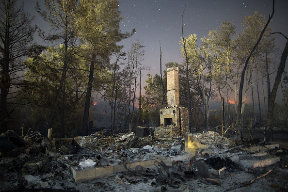 Natural Disaster「Fast-Moving Wildfire Brings Destruction To Lake County, CA」:写真・画像(15)[壁紙.com]