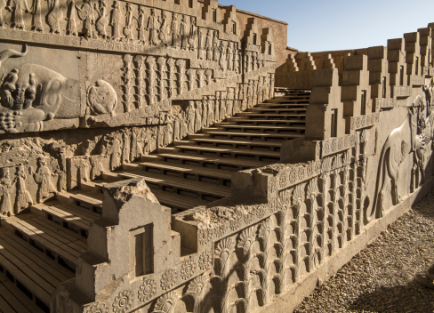 Iranian Culture「The ruins of Persepolis, Shiraz, Iran」:スマホ壁紙(18)
