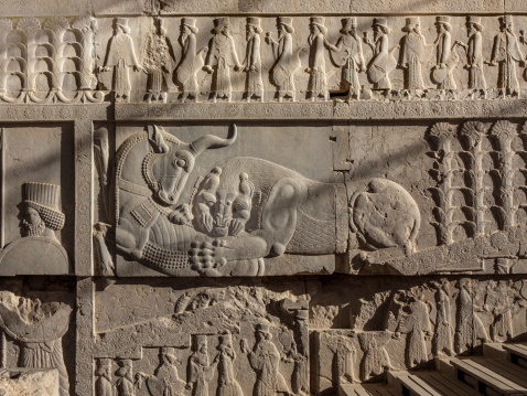 Iranian Culture「The ruins of Persepolis, Shiraz, Iran」:スマホ壁紙(2)