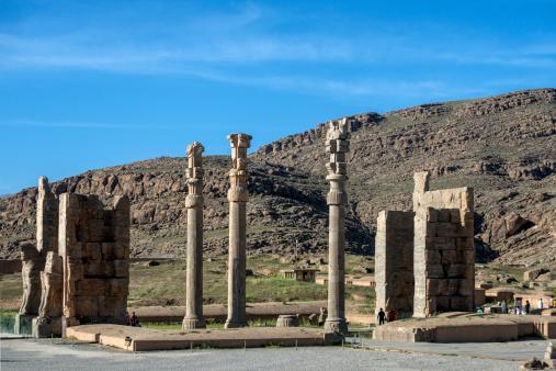 Iranian Culture「The ruins of Persepolis, Shiraz, Iran」:スマホ壁紙(0)