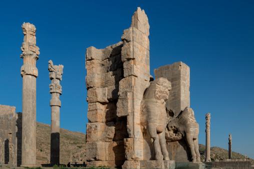 Iranian Culture「The ruins of Persepolis, Shiraz, Iran」:スマホ壁紙(5)