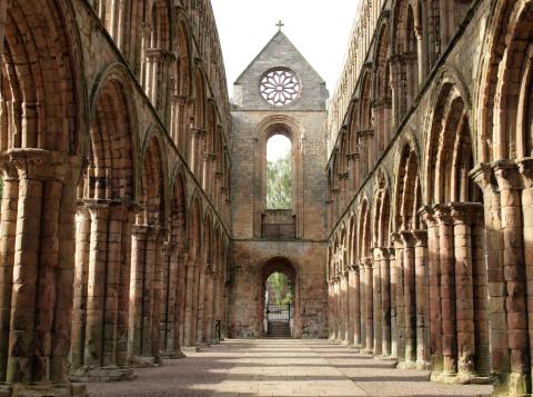 Abbey - Monastery「The Ruins of Jedburgh Abbey」:スマホ壁紙(11)