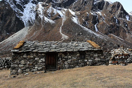 Khumbu「The ruins of the old Pheriche village」:スマホ壁紙(8)