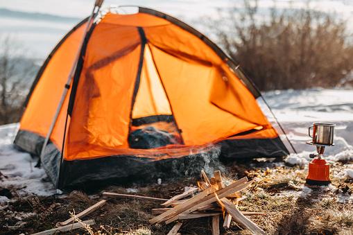 エクストリームスポーツ「休息のための完璧なテント」:スマホ壁紙(7)