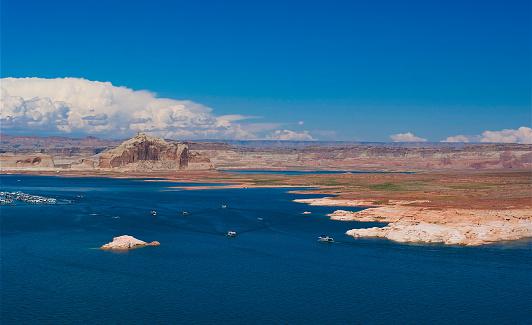 Glen Canyon National Recreation Area「Lake Powell」:スマホ壁紙(7)