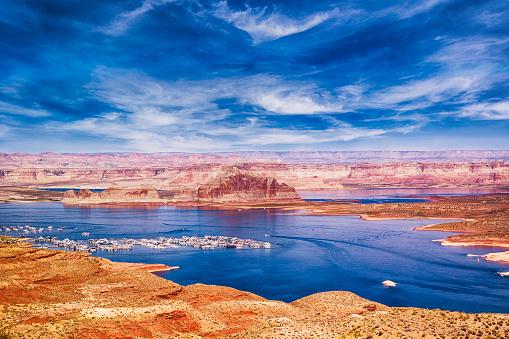 Glen Canyon National Recreation Area「Lake Powell」:スマホ壁紙(2)
