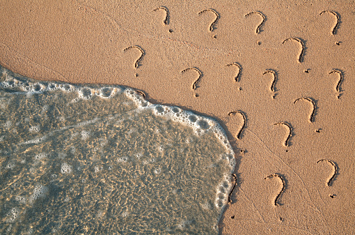 Uncertainty「Questions」:スマホ壁紙(17)