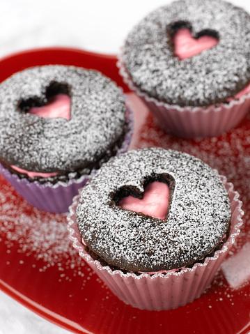 カップケーキ「Sweet Heart Cupcakes」:スマホ壁紙(4)