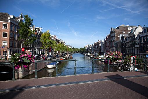 Amsterdam「bridge and canal」:スマホ壁紙(13)