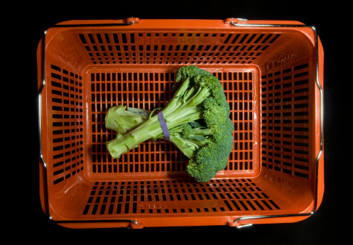 Broccoli「Brocoli in shopping basket」:スマホ壁紙(18)