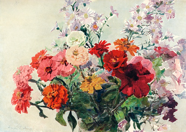 母の日「An Autumn Bunch, c1869-1906, (1906). Artist: Francis Edward James」:写真・画像(3)[壁紙.com]