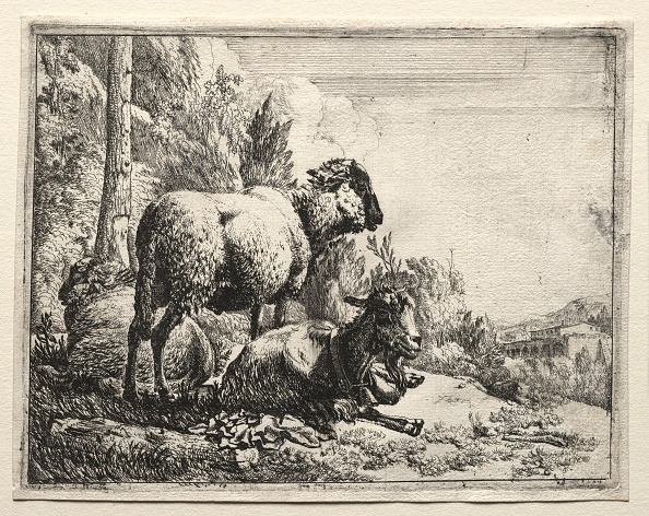 Etching「Goat With Bell」:写真・画像(4)[壁紙.com]