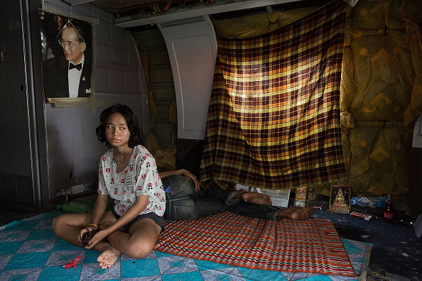 バンコク「Airplane Graveyard Becomes Unlikely Home For Impoverished Families In Thailand」:写真・画像(14)[壁紙.com]