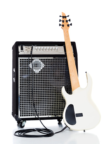 Bass Instrument「Bass Guitar and Amp」:スマホ壁紙(5)