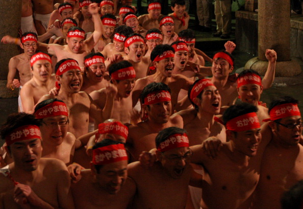 Japan「Saidaiji Temple Naked Festival Takes Place」:写真・画像(3)[壁紙.com]