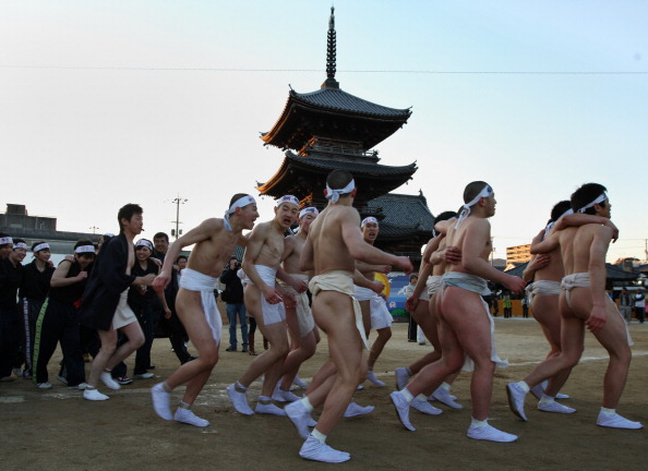 Japan「Saidaiji Temple Naked Festival Takes Place」:写真・画像(0)[壁紙.com]