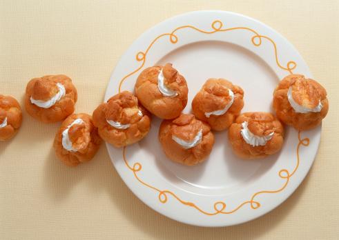 Wagashi「Cream Puff」:スマホ壁紙(14)