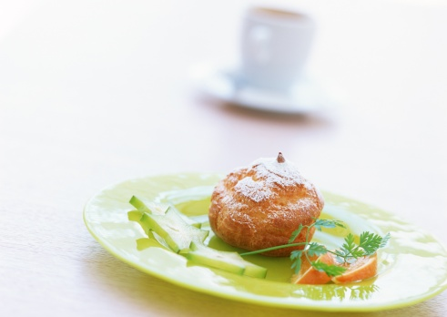 Wagashi「Cream puff with sliced vegetables」:スマホ壁紙(19)