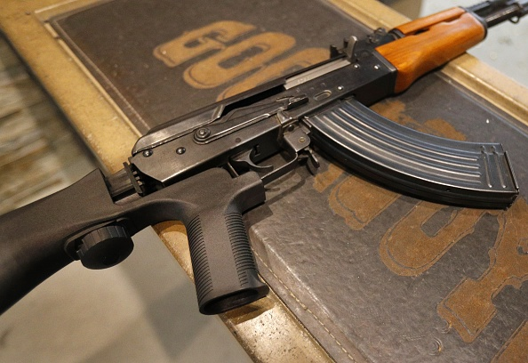 Rifle「Semi-Automatic Rifles Equipped With Bump Stocks Used At Gun Range」:写真・画像(16)[壁紙.com]