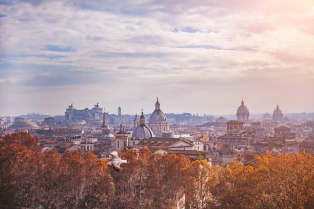 Rome Skyline:スマホ壁紙(壁紙.com)