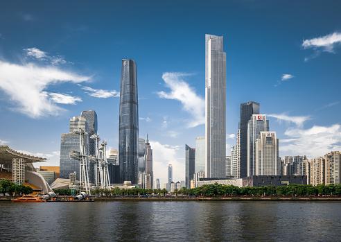 Guangdong Province「Guangzhou Skyline」:スマホ壁紙(11)