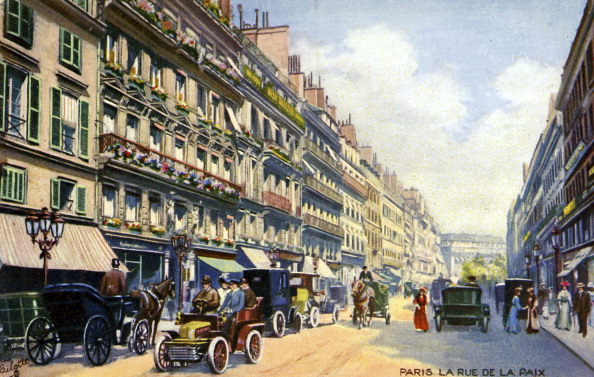 City Life「Rue de la Paix, Paris, c. 1900」:写真・画像(14)[壁紙.com]